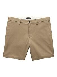 """Aiden Slim 7"""" Stretch-Cotton Short"""