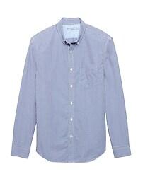 Camden Standard-Fit Luxe Poplin Check Shirt