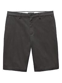 Short droit Emerson en coton extensible (28cm)
