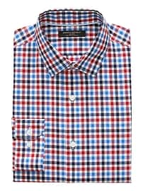 Grant Slim-Fit Non-Iron Stretch Gingham Shirt