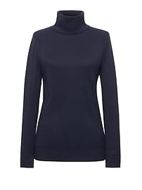 Pima Cotton Cashmere Turtleneck