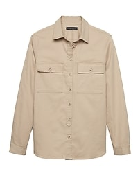 Dillon Classic-Fit Twill Utility Shirt