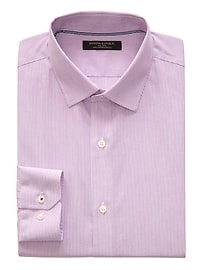 Camden Standard-Fit Non-Iron Stretch Stripe Shirt