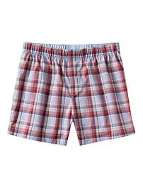 Madras Plaid Boxer