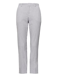 Avery Straight-Fit Stretch Seersucker Pant