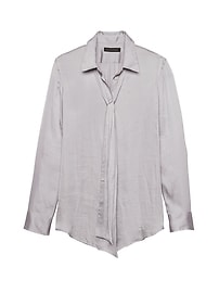 Dillon Classic-Fit Soft Shirt with Removable Tie