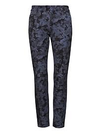 Sloan Skinny-Fit Floral Pant