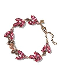 Vintage Colored Petal Bracelet