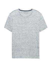 T-shirt au fini soyeux