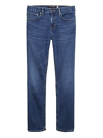 Tapered Rapid Movement Denim Medium Wash Jean