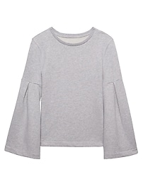 Bell-Sleeve Couture Sweatshirt