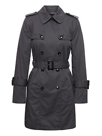 Water-Resistant Classic Trench