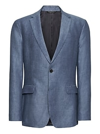 Standard Blue Linen Suit Jacket