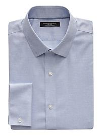Grant Slim-Fit Non-Iron Stretch French Cuff Shirt