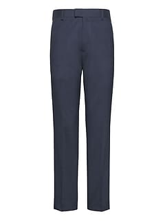 Athletic Tapered Performance Stretch Wool Pant