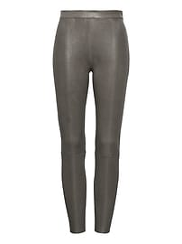 Heritage Devon Legging-Fit Stretch Leather Pant