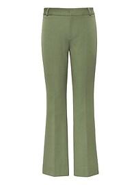 Bi-Stretch Crop Flare Pant