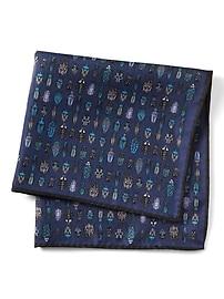 Bug Collection Silk Pocket Square