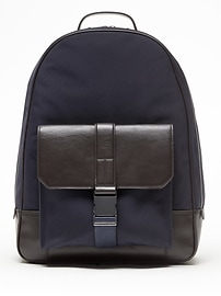 Top-Handle Backpack