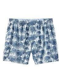 Caleçon à motifs de palmiers
