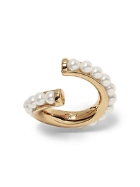 Outline Pearl Ring