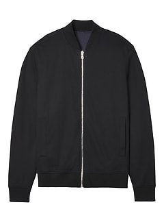 Reversible Luxury-Touch Bomber