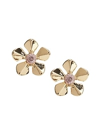 Budding Floral Stud Earring