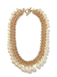 Collier d'apparat à perles en maille