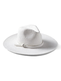 Wide-Brim Panama Hat