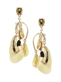 Soft Garden Statement Earring
