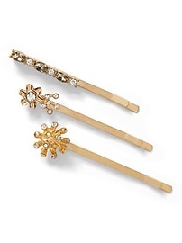 Soft Garden Hair Pins