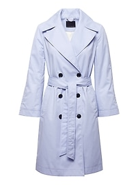 Water-Resistant Modern Trench Coat