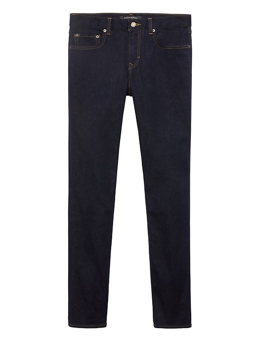 Skinny Rapid Movement Denim Stay Blue Jean by Banana Repbulic