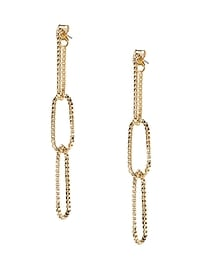 Liquid Links Linear Earring