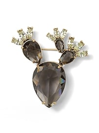 Jeweled Cactus Brooch