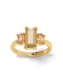 Blush Gemstone Ring