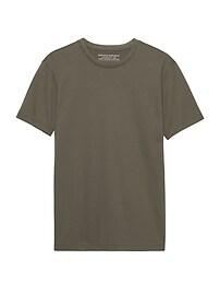 T-shirt ras du cou en coton SupimaMD authentique