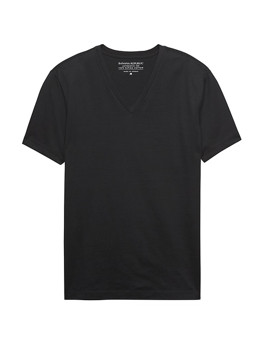 Authentic SUPIMA® V-Neck T-Shirt