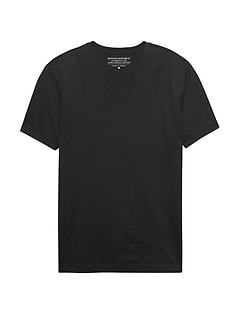 Authentic SUPIMA® Cotton V-Neck T-Shirt