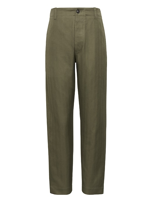Heritage Trooper Herringbone Pant by Banana Repbulic