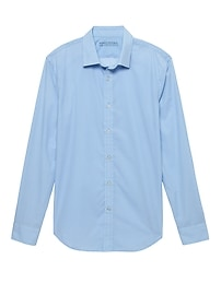 Grant Slim-Fit Luxe Poplin Dot Shirt