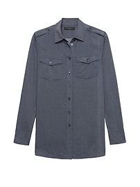Parker Tunic-Fit Utility Shirt