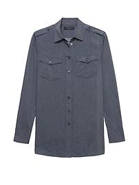 Parker Tunic-Fit Utility Shirt