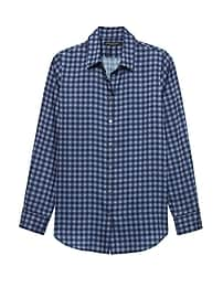 Dillon Classic-Fit Gingham Soft Shirt