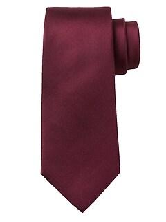 Cravate Oxford en soie