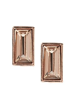 Baguette Stud Earrings