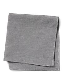 Basic Chambray Pocket Square