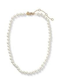 Collier à rang de perles