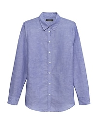 Dillon Classic-Fit Linen-Cotton Shirt