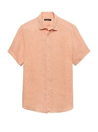 Camden Standard-Fit Short-Sleeve Linen Shirt